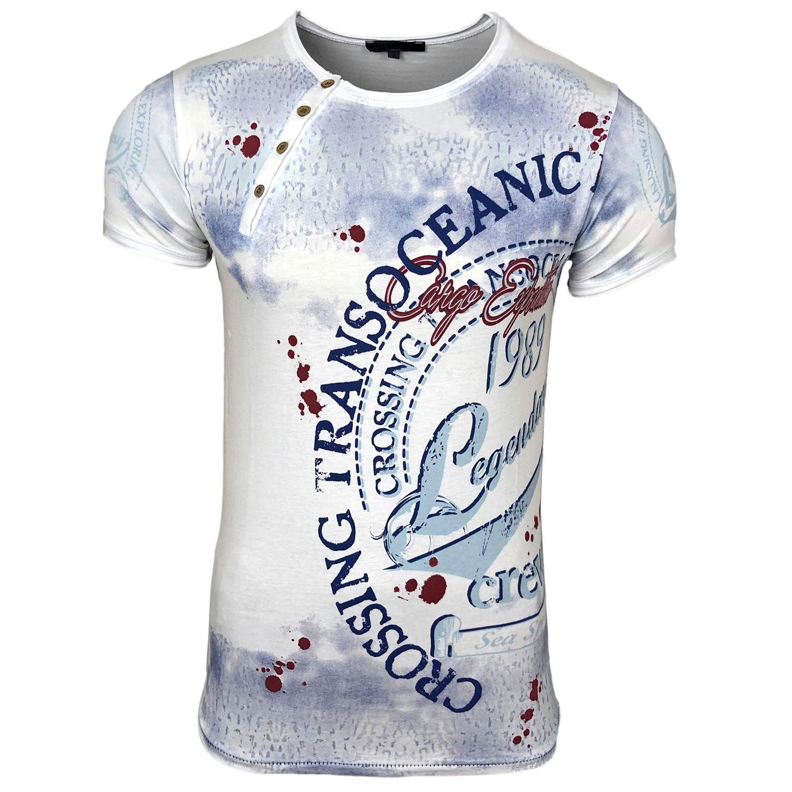 Rusty Neal T-shirt »A1-RN15045« nu online kopen bij OTTO