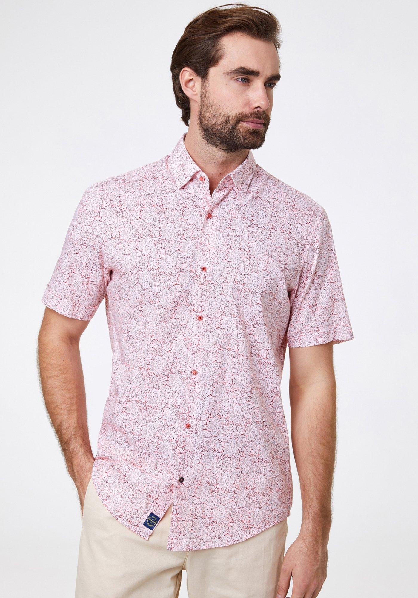 Pierre Cardin Overhemd paisleymotief nu online kopen bij OTTO