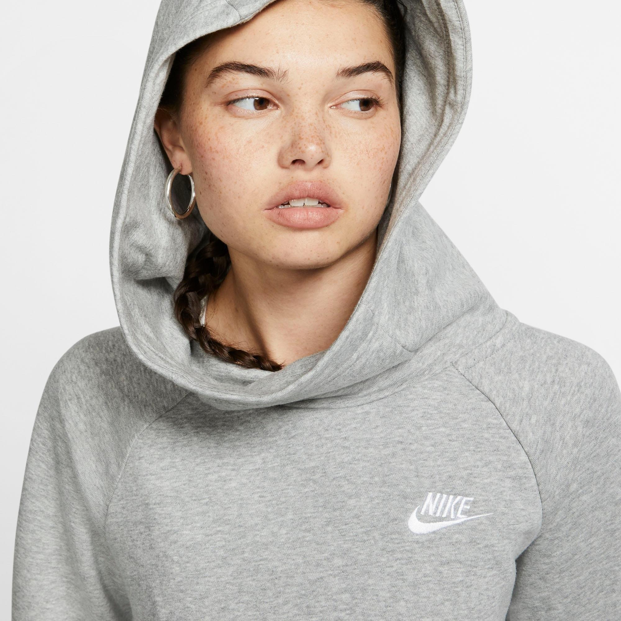 Nike Sportswear hoodie »Essential Women's Funnel-Neck Fleece Pullover Hoodie« nu online kopen bij OTTO