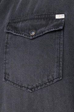 jack  jones jeansoverhemd »heridan shirt« zwart