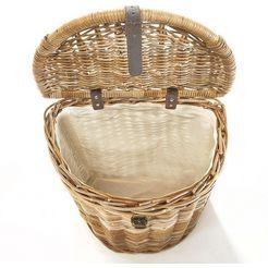 locker »kubu« wasmand bruin