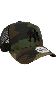 new era trucker-cap groen