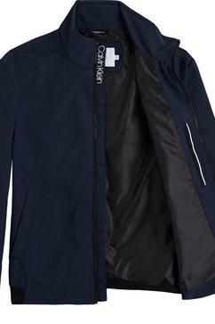 calvin klein blousonjack »casual nylon blouson jacket« blauw