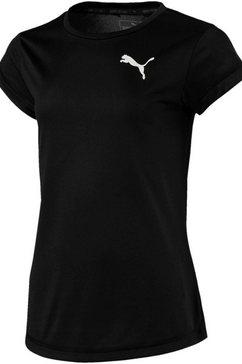 puma functioneel shirt »active tee girls« zwart