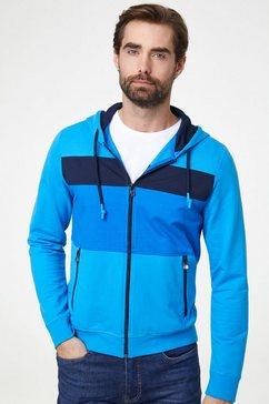 pierre cardin vest met capuchon »futureflex« blauw