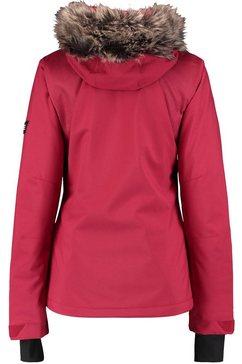 o'neill ski-jack »halite jacket« rood