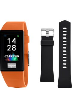 calypso watches smartwatch »smartime, k8500-3« (null) oranje