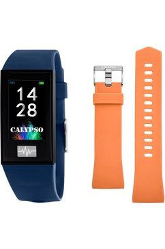 calypso watches smartwatch »smartime, k8500-5« (null) blauw