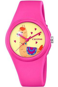calypso watches kwartshorloge »sweet time, k5789-4« roze