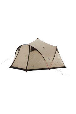 grand canyon tipi-tent »black knob 10«, 10 personen bruin