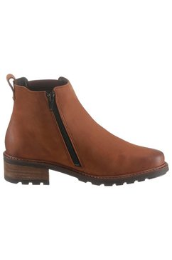 solidus chelsea-boots »kinga« bruin