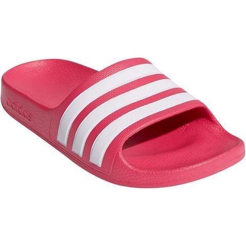 adidas performance Adilette Aqua K badslippers roze