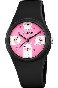 calypso watches kwartshorloge »sweet time, k5789-6« zwart