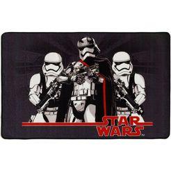 star wars vloerkleed voor de kinderkamer »sw-72« zwart