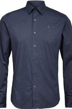 g-star raw overhemd met lange mouwen »dressed super slim hemd« blauw