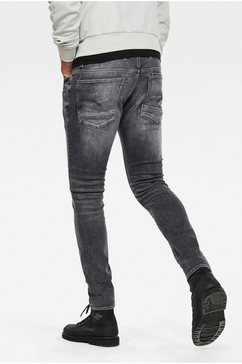 g-star raw skinny fit jeans »4101 lancet skinny jeans« zwart