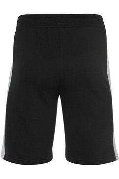 fila sweatshort »lex sweat shorts« zwart