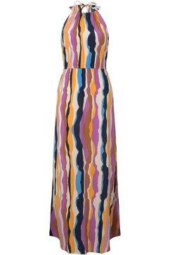 tom tailor denim maxi-jurk multicolor