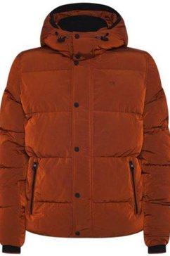 calvin klein winterjack »crinkle nylon mid length jacket« bruin