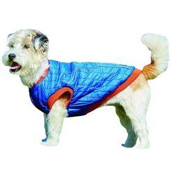 weatherbeeta »puffer« lange hondenjas blauw
