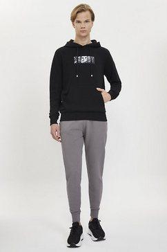 westmark london capuchontrui »muticultured hoodie« zwart