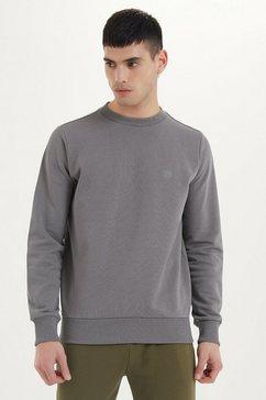westmark london sweatshirt »essentials sweat« grijs