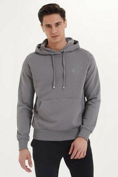 westmark london capuchontrui »essentials hoodie« grijs