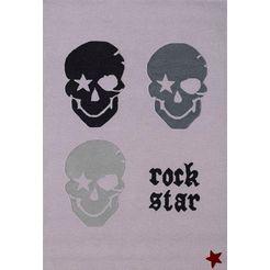 rock star baby vloerkleed »rn2383-1« grijs
