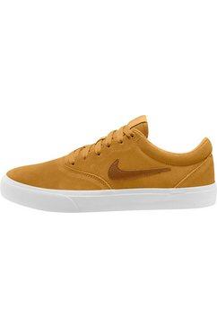 nike sb sneakers »charge suede skate« geel