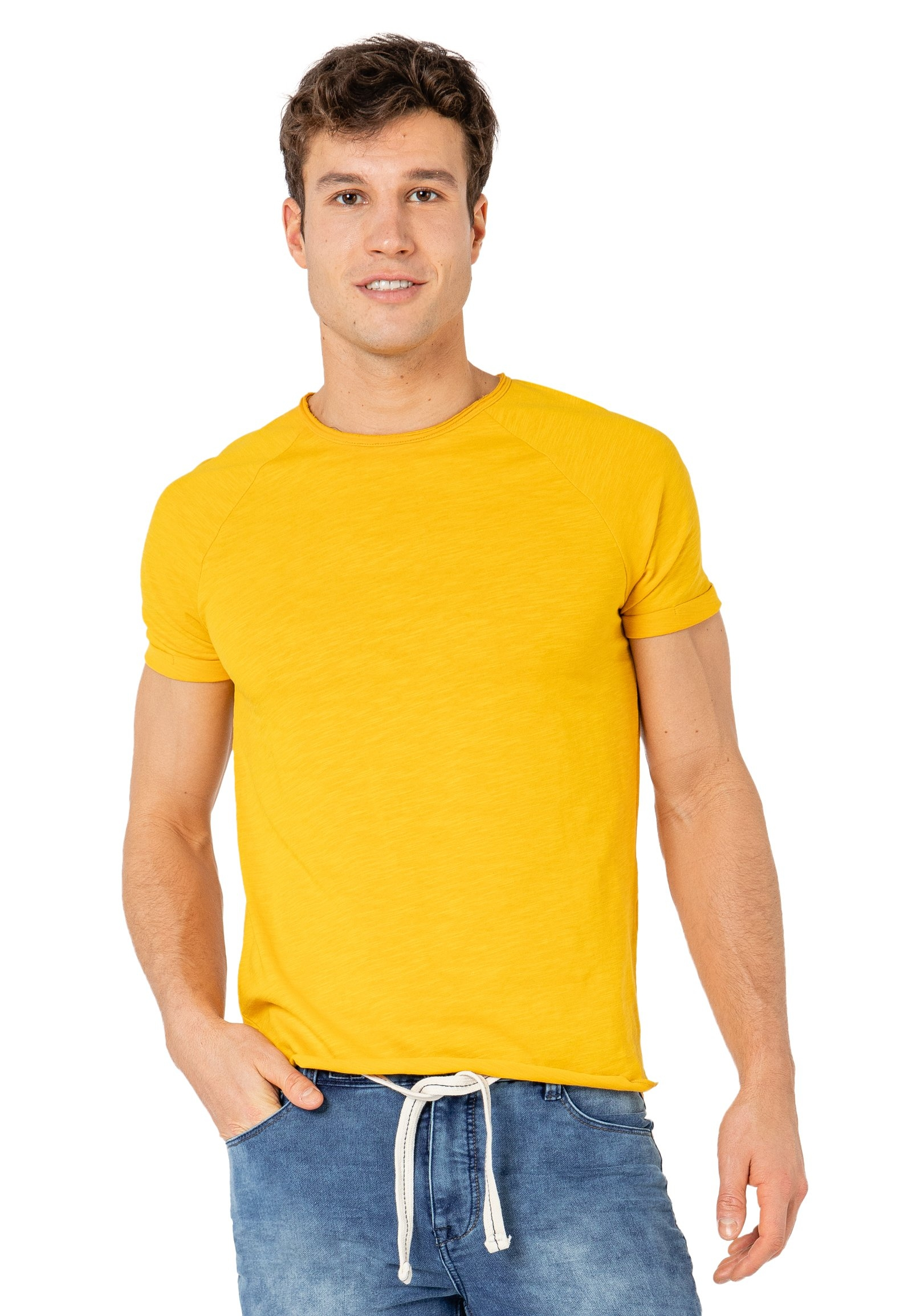 Sublevel shirt met ronde hals - verschillende betaalmethodes