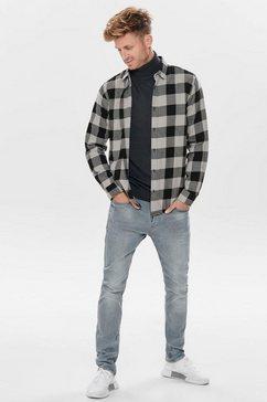 only  sons geruit overhemd »gudmund ls checked shirt« grijs