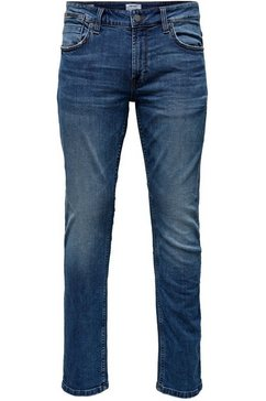 only  sons slim fit jeans »loom« blauw