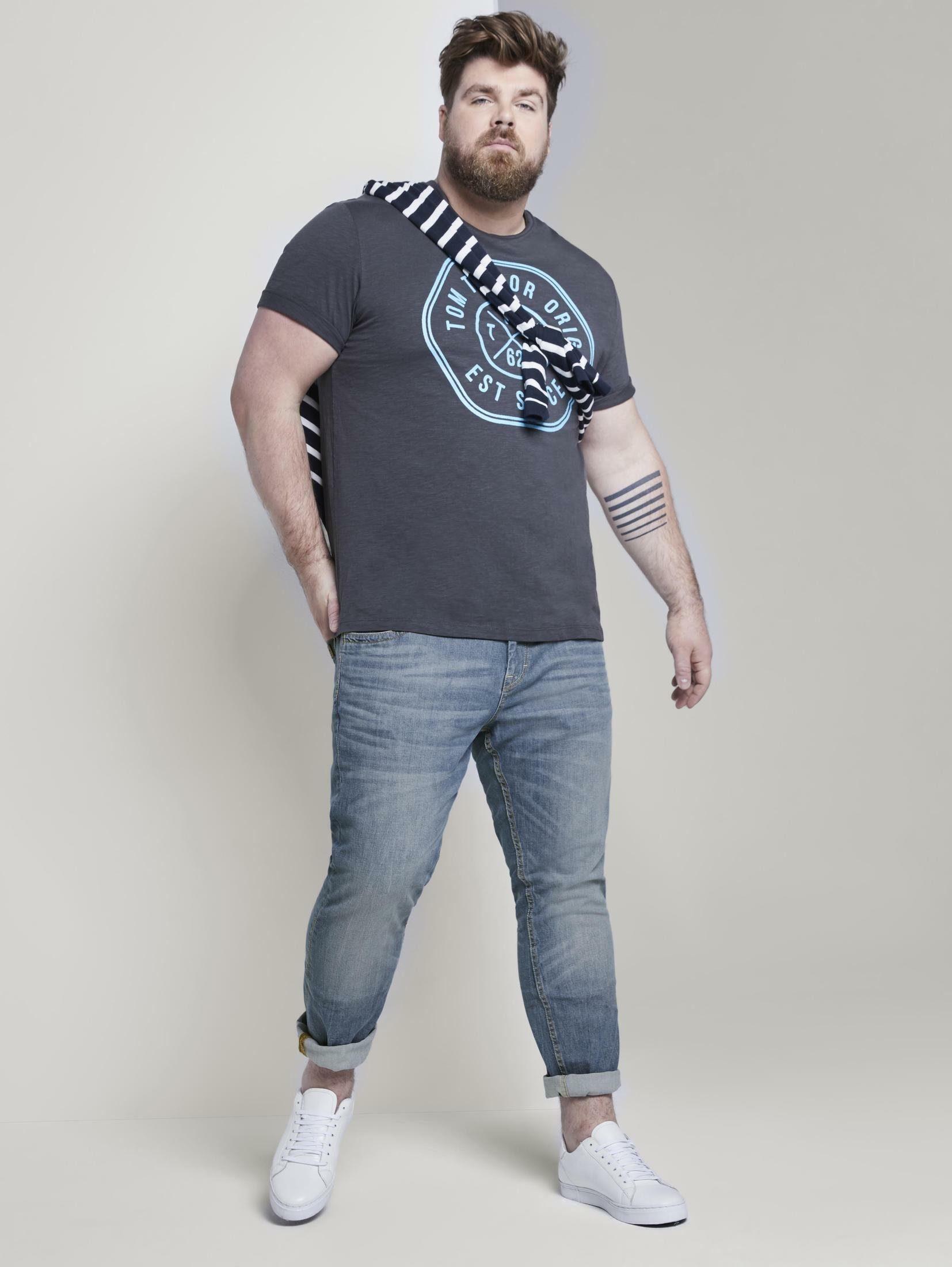 Tom Tailor 5-pocket Jeans Slim Snel Gevonden - Geweldige Prijs