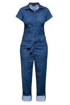 queenkerosin jumpsuit blauw