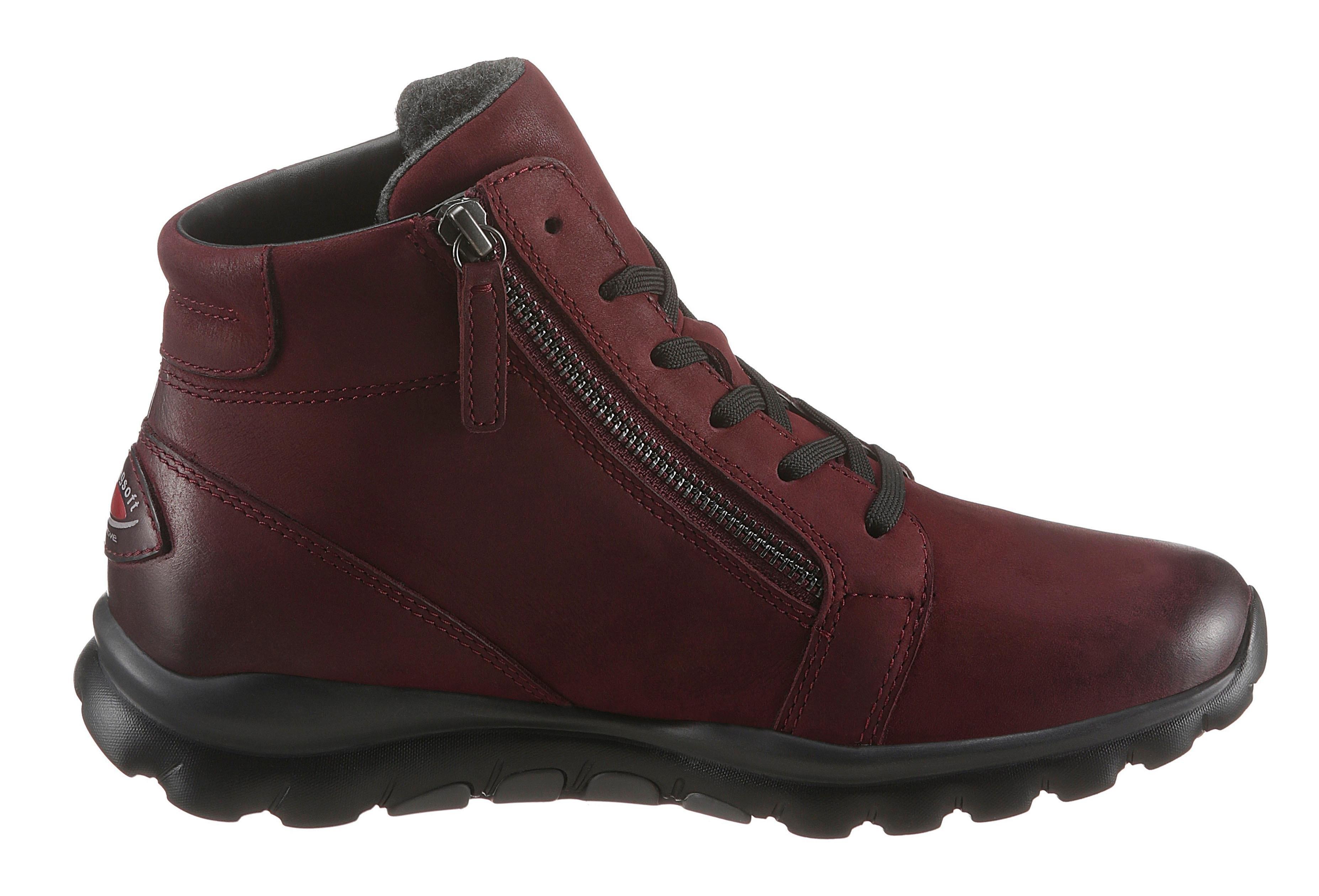 Gabor Rollingsoft hoge veterschoenen met geprofileerde rubberzool bij OTTO online kopen