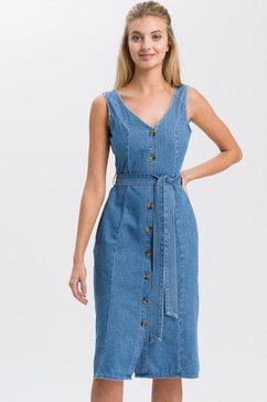 cross jeans jeansjurk »b 525« blauw