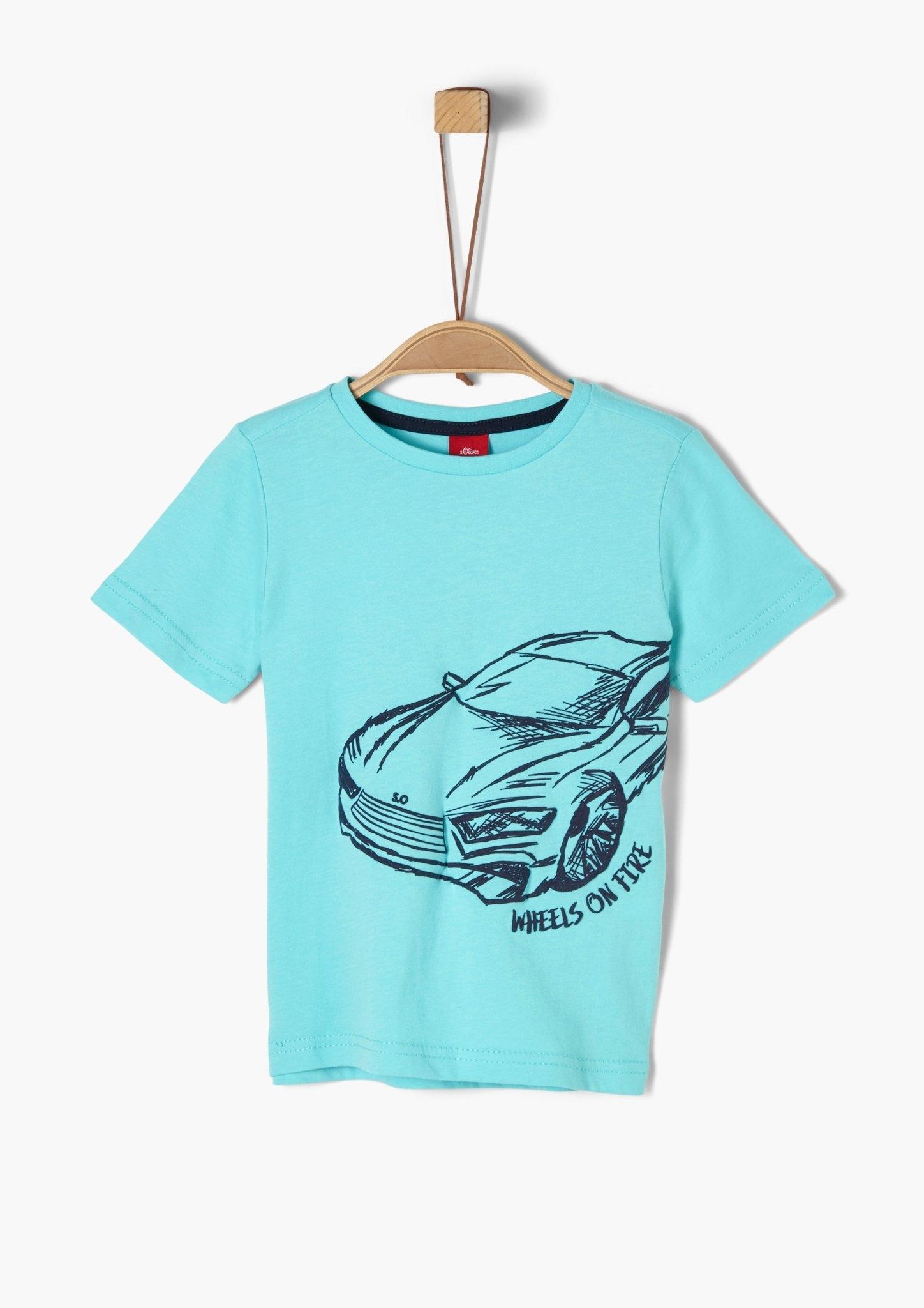 s.Oliver s.Oliver basic jersey shirt bij OTTO online kopen