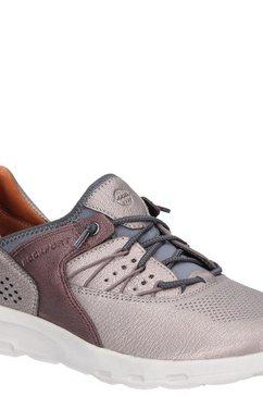 rockport sneakers »damen lets walk mit bungee-schnuerung« zilver