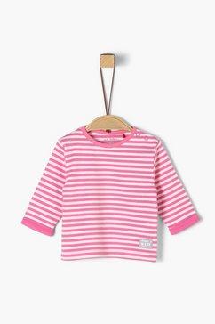 s.oliver jersey shirt met lange mouwen roze