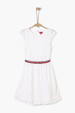 s.oliver kanten jurk_voor meisjes wit