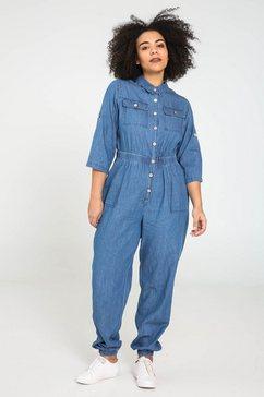 paprika five-pocketsbroek blauw