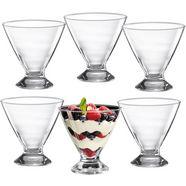 ritzenhoff  breker ijsschaaltje pisa 300 ml (set, 6-delig) wit