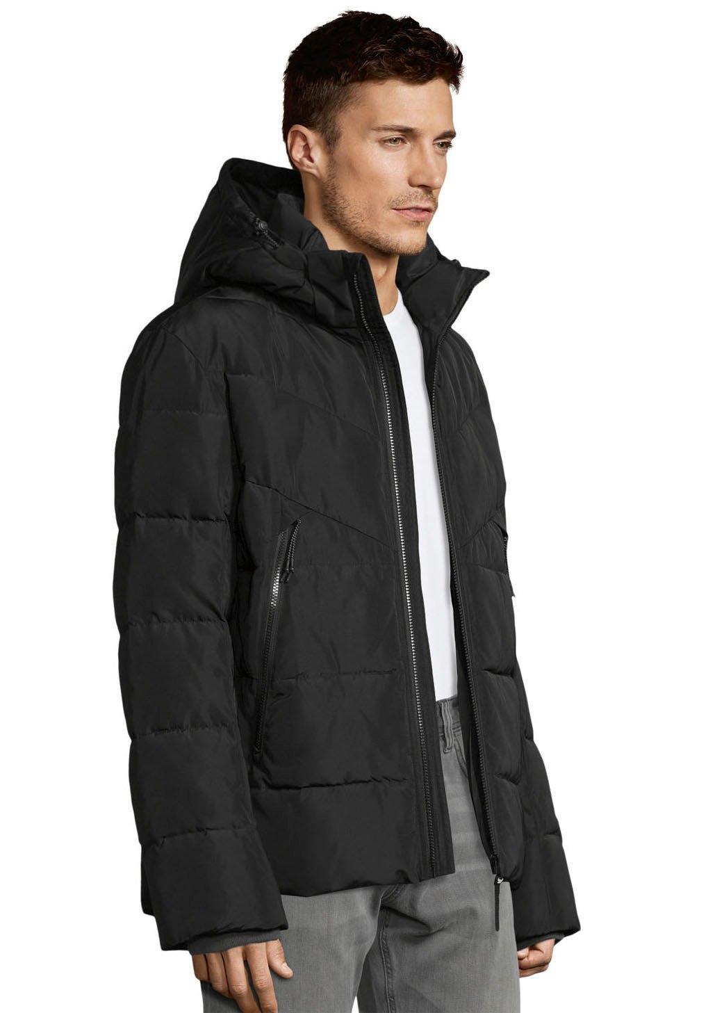 Tom Tailor Denim gewatteerde jas met een capuchon bij OTTO online kopen