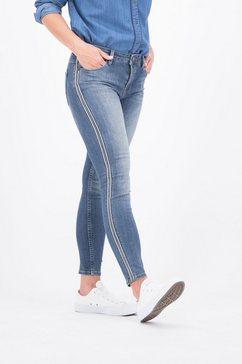 garcia skinny fit jeans blauw