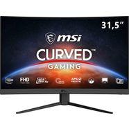 "msi gaming-monitor optix g32c4, 80 cm - 31,5 "", full hd, 3 jaar fabrieksgarantie zwart"