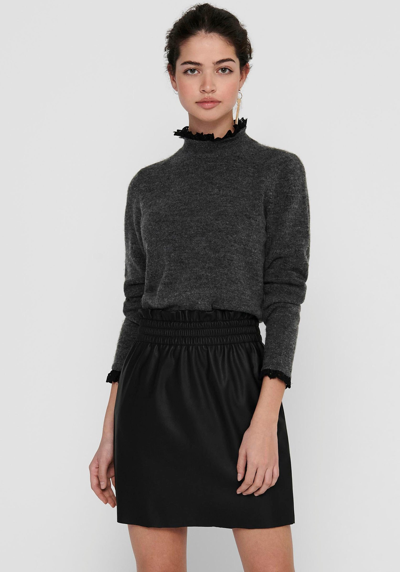 ONLY trui met staande kraag »ONLELSIE« voordelig en veilig online kopen