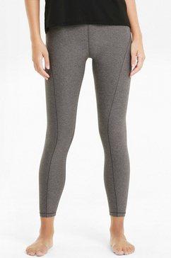 puma yogatights studio yogini high waist 7-8 tight in grote maten grijs