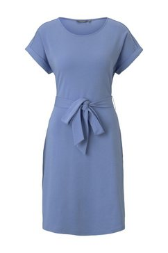 tom tailor mine to five jerseyjurk »jerseykleid mit bindeguertel« blauw