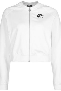 nike functioneel capuchonsweatvest »air« wit