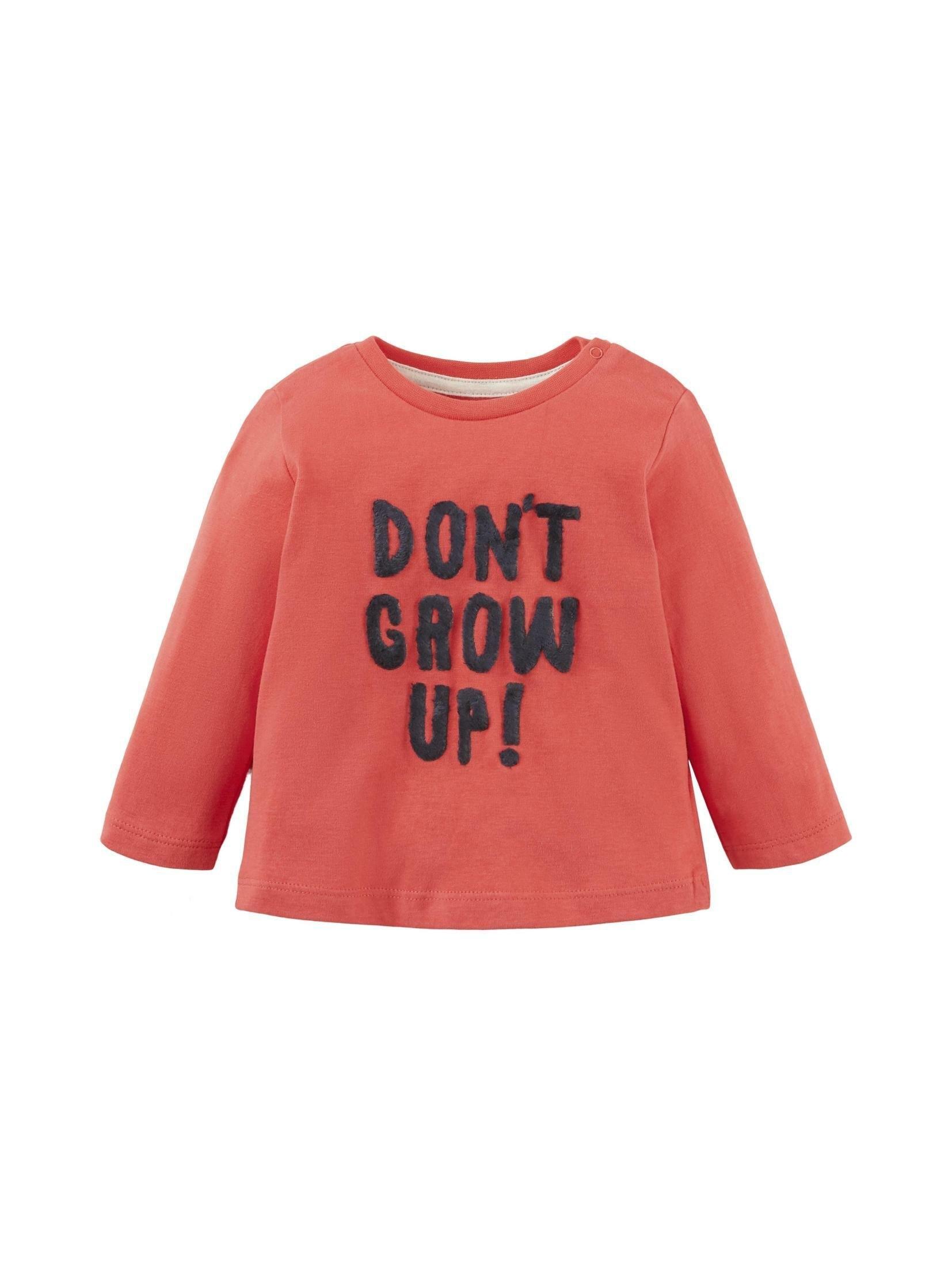 TOM TAILOR shirt met lange mouwen »Langarmshirt mit Artwork« bij OTTO online kopen